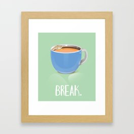 Tea Break Framed Art Print