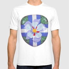Icons White Mens Fitted Tee MEDIUM