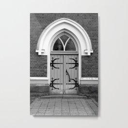 Door - photography Metal Print