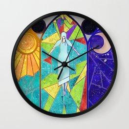 Vidriera Wall Clock