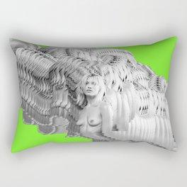404 Error Green Rectangular Pillow