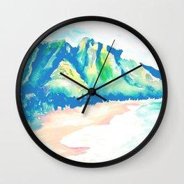 HAWAII BLUES Wall Clock