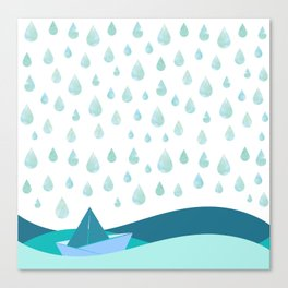Rain Shower Canvas Print