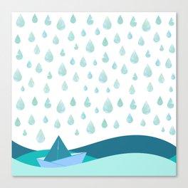 Rain Shower Canvas Print