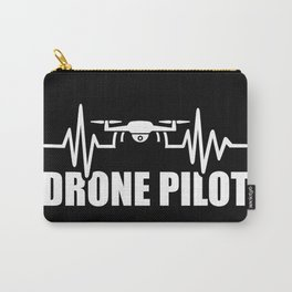 Drone Heartbeat Carry-All Pouch