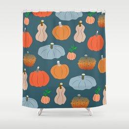 Halloween pumpkin fest Shower Curtain