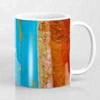 door Mugs featuring Door by Maite Pons