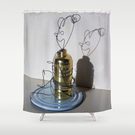 Mommy Relaxing Shower Curtain