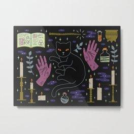 Spooky Horoscopes: Leo Metal Print
