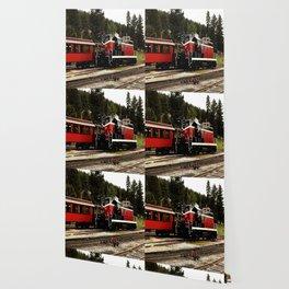 Black Hills Diesel Locmotive # 63 Abstract Wallpaper