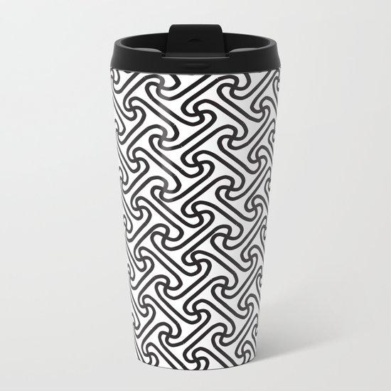 Pattern A 1 Metal Travel Mug
