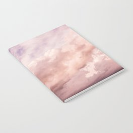 Perfect Pink Summer Sky Nature Photography Notebook