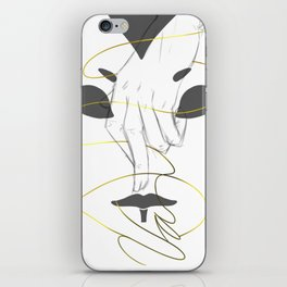 The Hands of a Rogue iPhone Skin