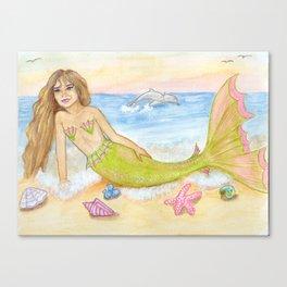 Seasprite Mermaid Canvas Print