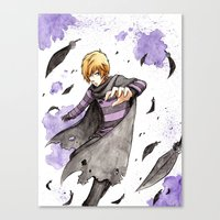 leon Canvas Prints featuring Leon by Owly Fa