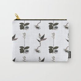 Goodyera and the Macodes Orchid Pattern Carry-All Pouch