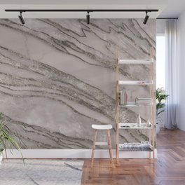 Marble Gemstone Blush Peach  Wall Mural