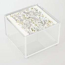 Grey Cheetahs Acrylic Box