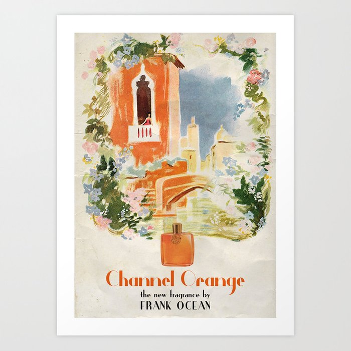 Channel Orange Art Print by Ads Libitum - MEDIUM