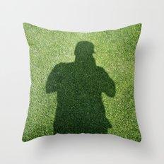 Shadow Man Throw Pillow