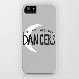sticks, stones and heck no  iPhone Case