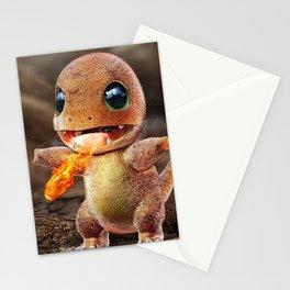 Realistic Charmandar Stationery Cards