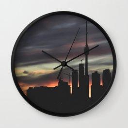 URBAN SILHOUETTES Wall Clock