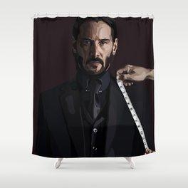 John wick Shower Curtain