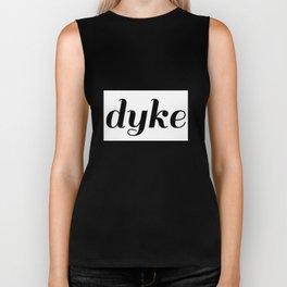 dyke pride Biker Tank
