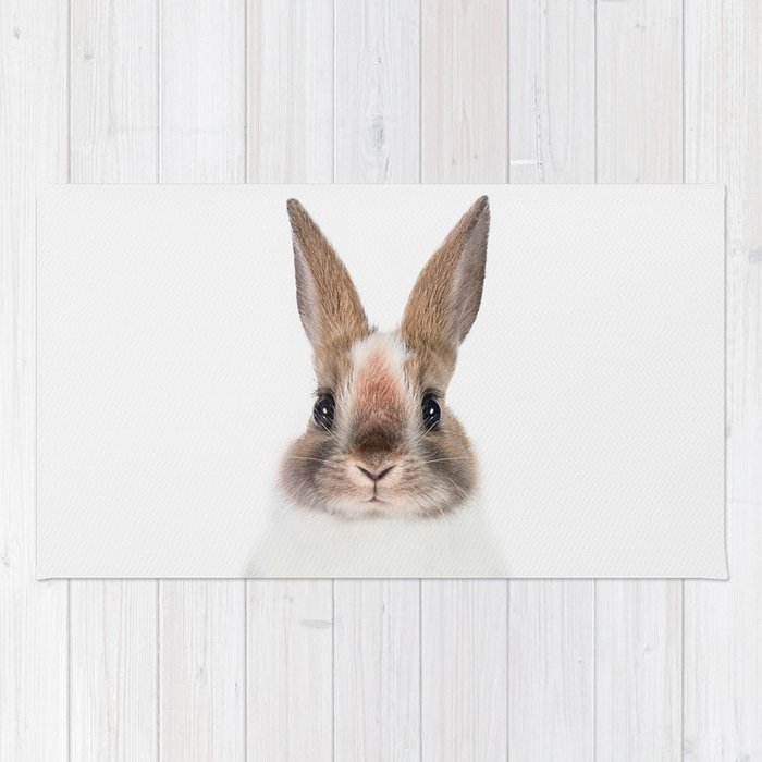 Bunny Rug By Taiprints Society6