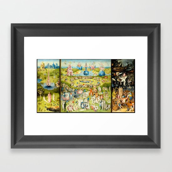 the Garden of Earthly Delights by Bosch by purelove