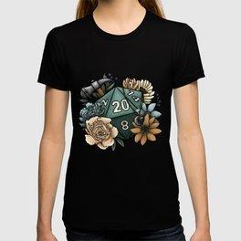 Cleric Class D20 - Tabletop Gaming Dice T-shirt