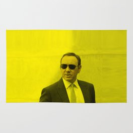Kevin Spacey - Celebrity (Florescent Color Technique) Rug