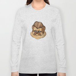 Ron Swanson Cat Long Sleeve T-shirt