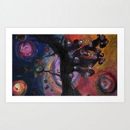 bittersweet tree  Art Print
