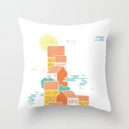 36days L Throw Pillow