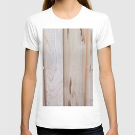 Pine Wood Fence, Boards in a Fence, Pine Boards, Wood T-shirt