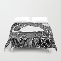 rat Duvet Covers featuring Rat by Mindy Robinson