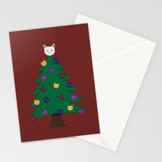 Merry Meow Stationery Cards