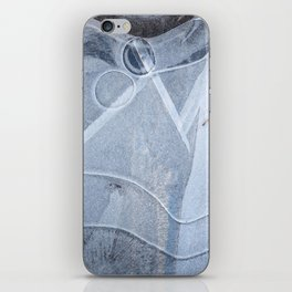 Ice Abstract iPhone Skin