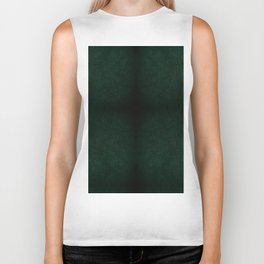 Dark green leather sheet texture abstract Biker Tank