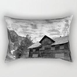 Enchanted Valley Chalet Rectangular Pillow