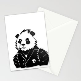 Punk Panda Stationery Cards