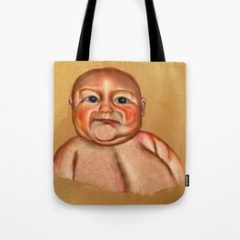Chubby Poker Face Tote Bag