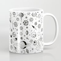 planets Mugs featuring Planets by Smith and Ford