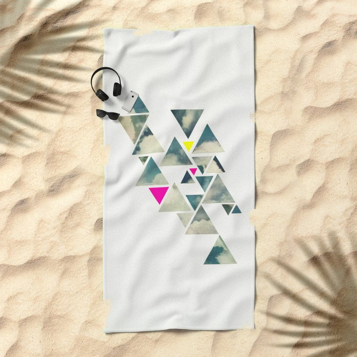 Shattered Sky Beach Towel