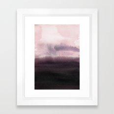 Twilight Landscape Framed Art Print