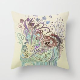 Thistle_tangle Throw Pillow