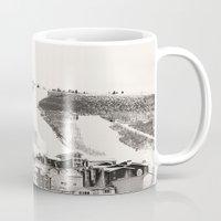 ski Mugs featuring Ski Town by Patti Toth McCormick