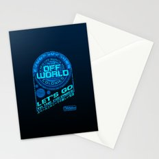 Off World Stationery Cards